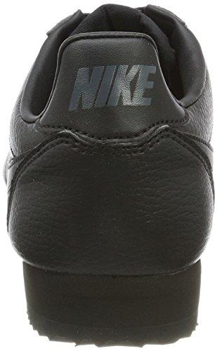 Leather Sneaker Cortez Schwarz Classic Schwarz Herren Nike Leder anthracite Black black EUwxt6Y6q