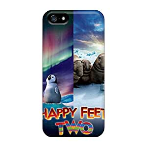 Awesome Design Happy Feet Two Movie Hard Case Cover For Iphone 5/5s
