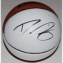 Diana Taurasi Autographed Basketball - PHOENIX MERCURY Mini white pannel W COA #3 - Autographed Products