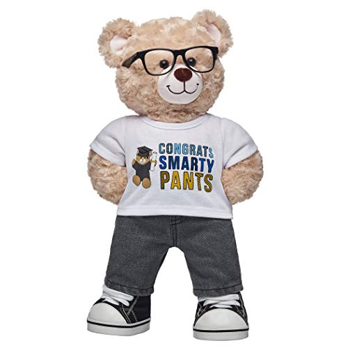 Build A Bear Workshop Congrats Smarty Pants Teddy Bear Graduation Gift Set, 16 inches from Build A Bear