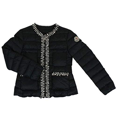Moncler Girls 453629953048999 Black Polyamide Down Jacket ()