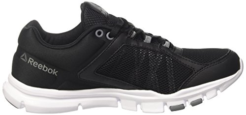 Reebok Trainette Fitness Chaussures 0 Yourflex de White Femme Grey Silver Metallic Black MT Asteroid Noir Dust wpYx5YI
