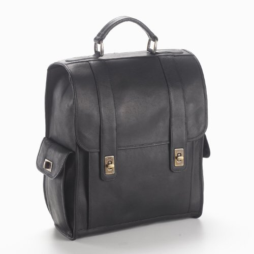 - Clava Turn Lock Briefcase - Vachetta Cafe