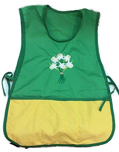 (Apron Daffodil Bouquet 3 pockets)