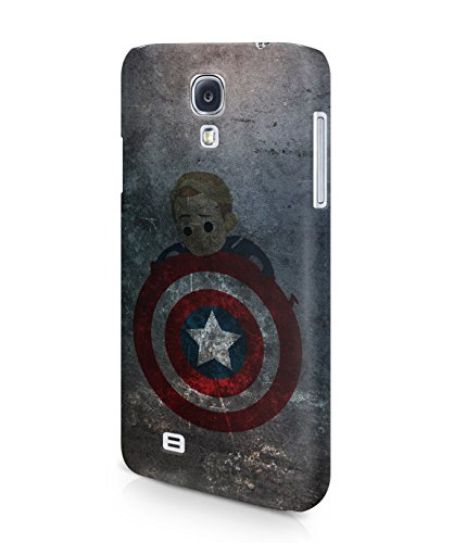 Captain America Winter Solider Grunge Plastic Snap-On Case Cover Shell For Samsung Galaxy S4
