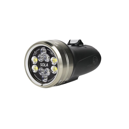Light and Motion Sola Video 2100 S/F FC Light (Black) by Light and Motion