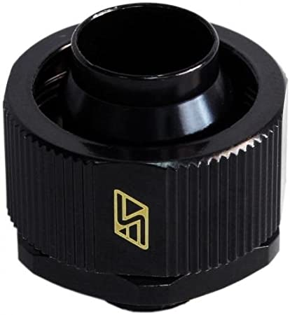 Swiftech 3-4X1-2-G1-4-CF-BK ½ x ¾ Lok-Seal Compression Fitting