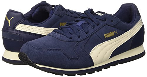 Puma St Runner SD, Baskets Basses Mixte Adulte Bleu Marine