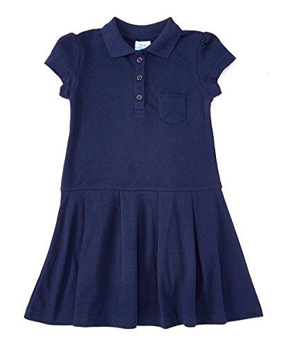 unik Classic Girl Uniform Polo Shirt Dress Navy Size 10