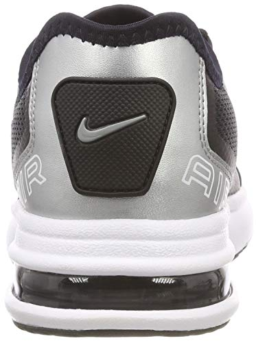 black metallic gs Silver Air Nero Scarpe 002 Nike Max Bambino Running white Lb qztwy8FxU
