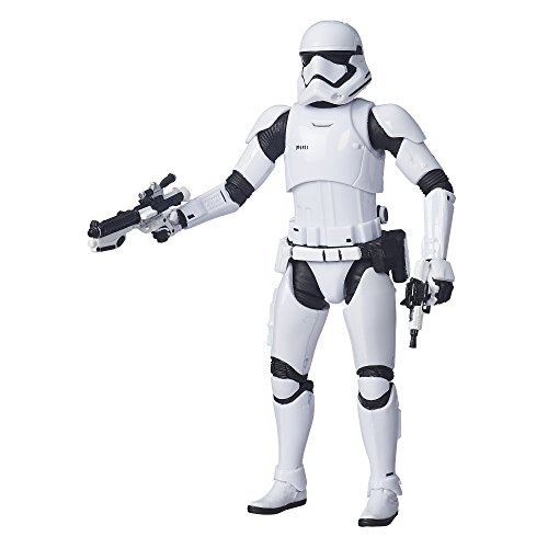 Star Wars The Black Series 6-Inch First Order Stormtrooper First Collectible