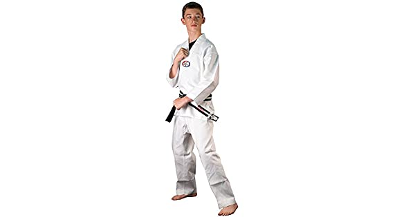 Amazon.com: Tiger Claw Uniforme de Tae Kwon Do de 6 oz ...
