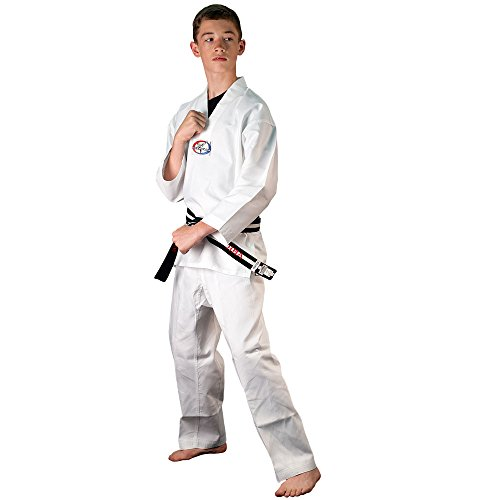 Tiger Claw 6 OZ. Ultra Light Weight Tae Kwon Do (TKD) - Size 1