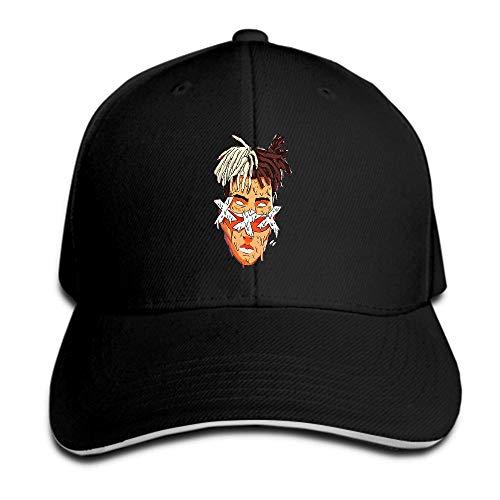 NBTJOOL New Xxxtentacion American R.I.P. Rap Music Singer Rapper Star Sandwich Peak Cap Baseball Cap Hip Hop Adjustable Hat by NBTJOOL