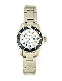 Del Mar Steel Women's Nautical Diver's Watch