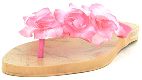 Women's Multi Color Jelly Flip Flop Thong Sandal Beach Slipper Equa Shoe