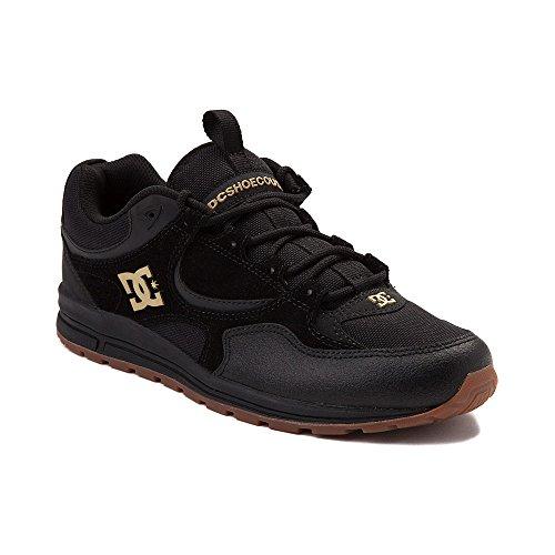 スピーカー承認する画面(ディーシー) DC 靴?シューズ メンズスケートシューズ Mens DC Kalis Lite Skate Shoe Black/Gold ブラック/ゴールド US 13 (31cm)