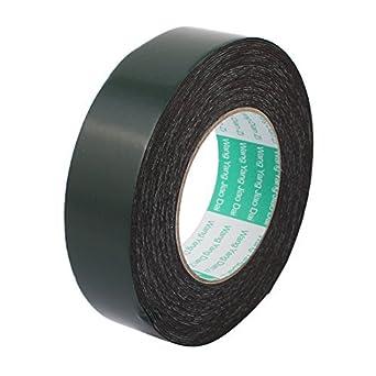 eDealMax 35 mm x 1 mm Negro Doble cara auto-adhesivo de la Cinta de espuma de la esponja 10M Longitud: Amazon.com: Industrial & Scientific