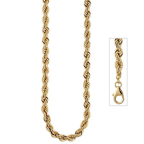 Jobo Cordon Chaîne en or jaune 5855,4mm 50cm Chaîne Collier Or Chaîne Mousqueton