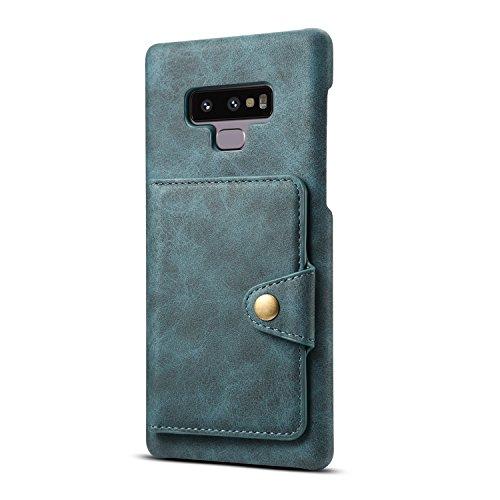 Funda para Galaxy Note 8 Galaxy Note 9 con Ranura para Tarjetas, con Tapa de Piel y función Atril Oculto para Galaxy Note 8,...