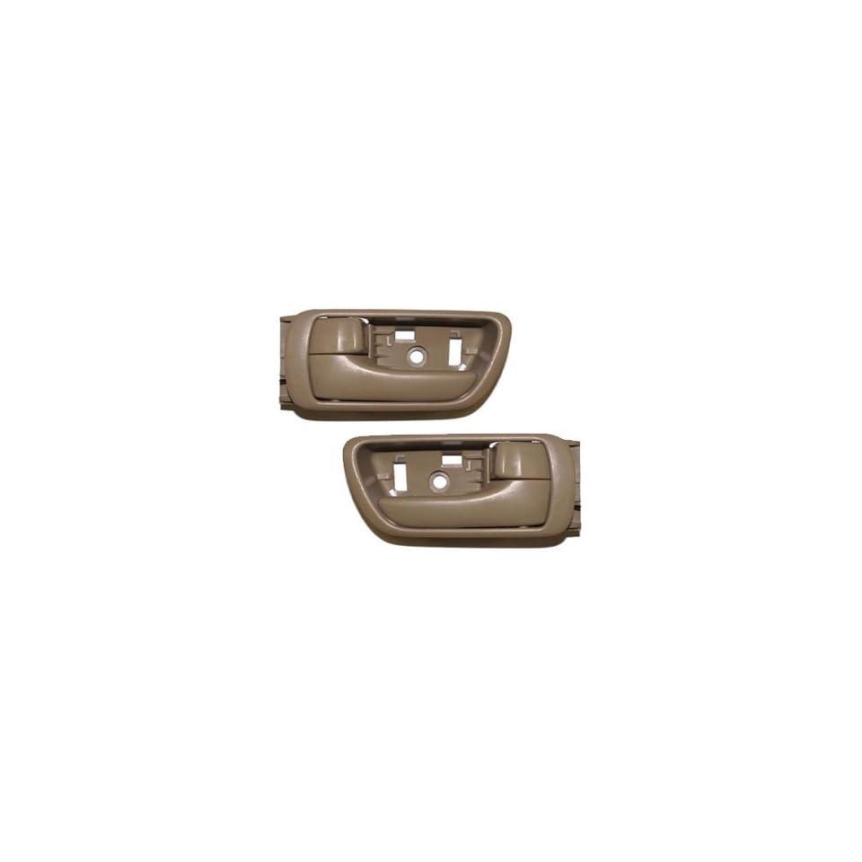 #DS28 02 06 Motorking Toyota Camry Tan Replacement 2 Inside Door Handles 02 03 04 05 06