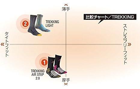 Color x01 Negro X-Socks Trekking Calcetines de Senderismo