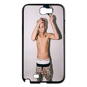 Pop Boy Justin Bieber Hard Plastic phone Case Cover For Samsung Galaxy Note 2 Case XFZ412164