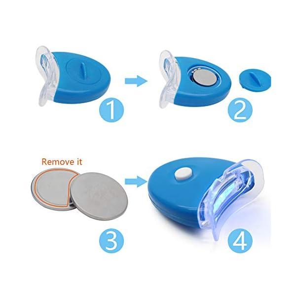 Kit de blanchiment des dents,Blanchissante Des Dents,Blanchiment des Dents,kit de blanchiment Dispositif de blanchiment…