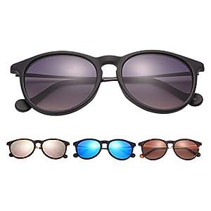 O-LET Polarized Women's Designer Sunglasses, Glare-Eliminating, Erika Sunglasses for Women Men,100% UV Blocking