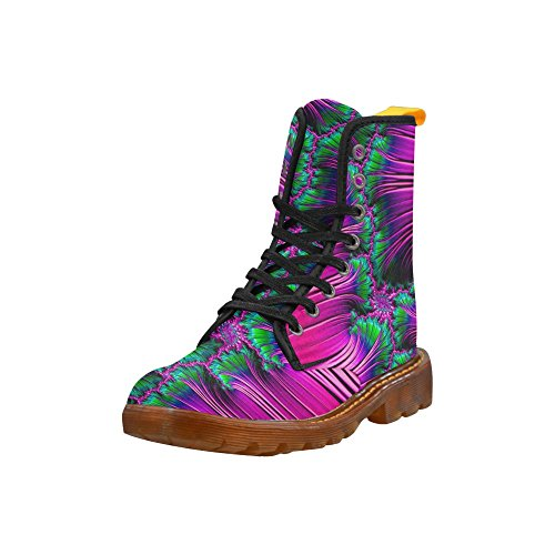 Fashion Fractal Women Shoes Martin amazing LEINTEREST amazing Fractal LEINTEREST For Boots Martin APXqwP8S