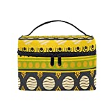 Cosmetic Case Bag Africa Art Nation Custom Portable Travel Makeup Bag Toiletry Organizer