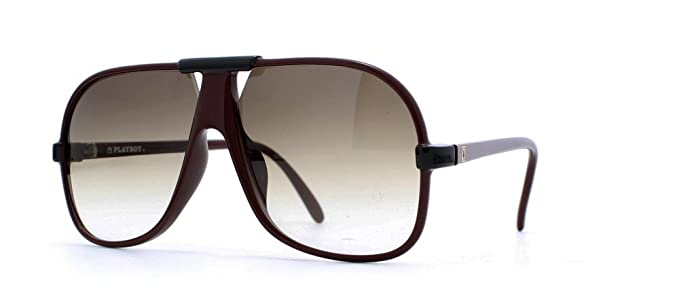 d7dbe15995595 Playboy 4648 10 Red Aviator Certified Vintage Sunglasses For Mens   Amazon.co.uk  Clothing