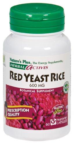 Plus de la nature - levure de riz rouge, 600mg, 60 veggie caps
