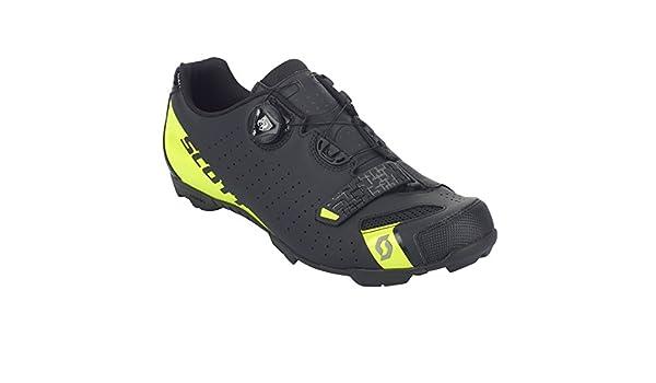 SCOTT MTB Comp Boa Zapatillas de ciclismo, negro y amarillo, 2018: Amazon.es: Deportes y aire libre