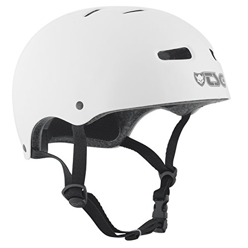 TSG - Skate/BMX Injected Color (Injected White, L/XL 57-59 cm) Helmet for Bicycle Skateboard