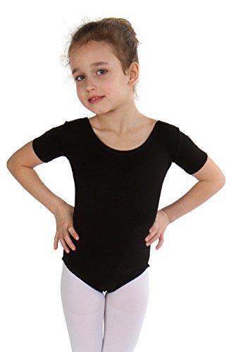 Body Combinaison Manches Maillot Rosa Fille Ballet Courtes nPfq8xPOz