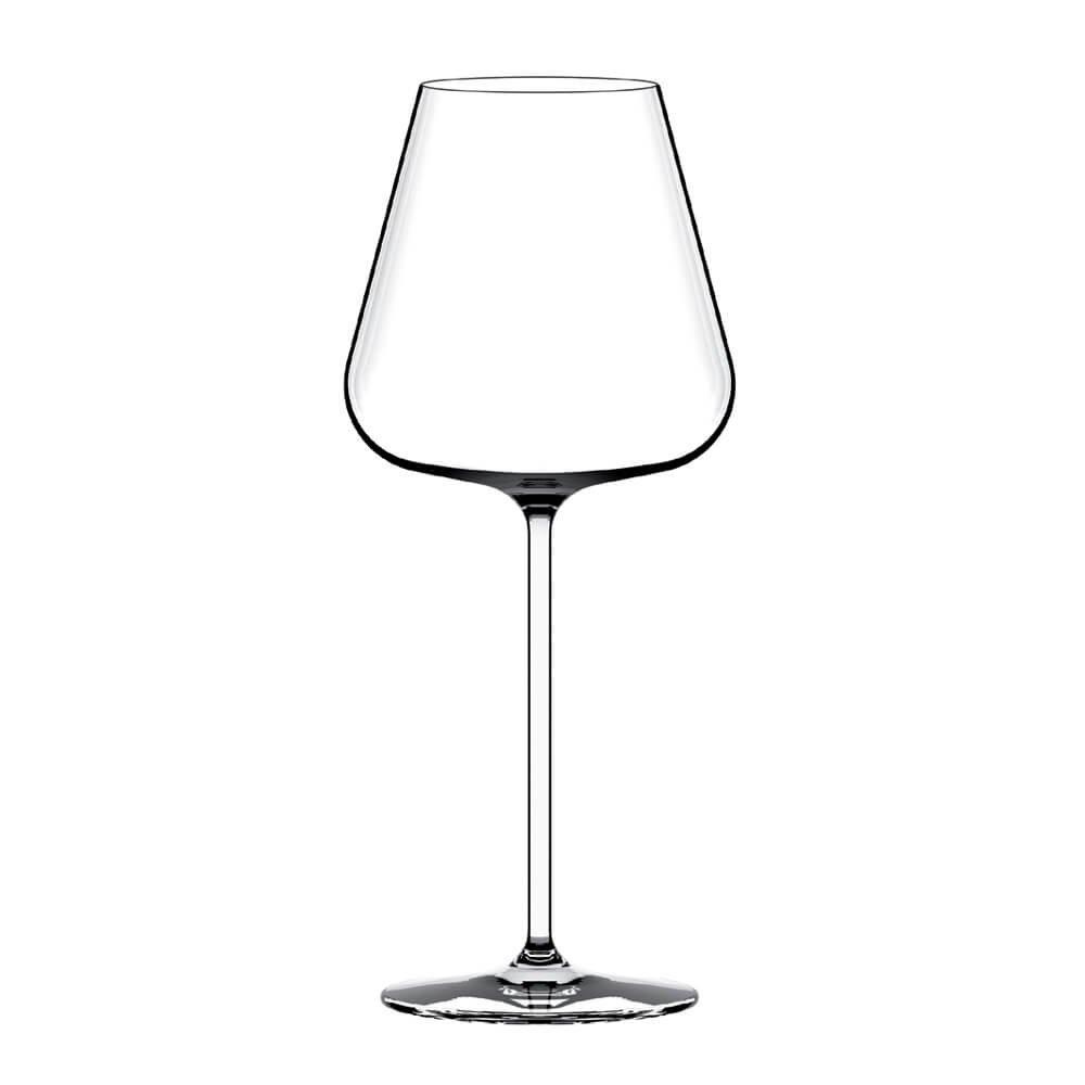 Set 6 Italesse Etoilé Sparkle Champagne Steam-Glass 16 1/3 oz Transparent