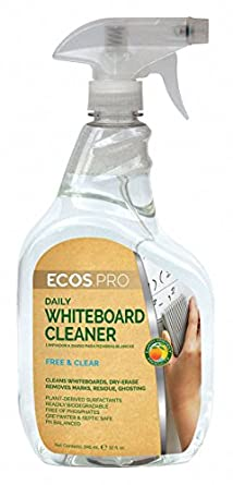 Dry Erase Board Cleaner, 32 oz.: Amazon.com: Industrial & Scientific