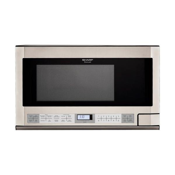 Sharp 1-1/2-Cubic Feet 1100-Watt Over-the-Counter Microwaves