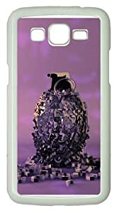 Grenade PC Case Cover for Samsung Grand 2 and Samsung Grand 7106 White