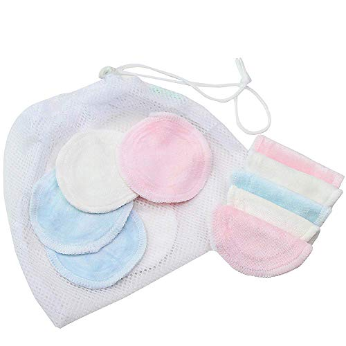 - Iulove Bamboo Makeup Remover Pads Reusable Soft Facial Skin Care Wash Pads Wipes 16 Pcs