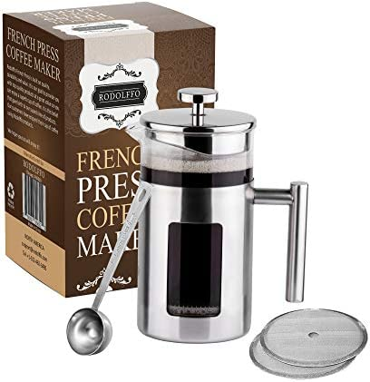 Rodolffo Quality French Press Coffee Maker 34 Ounce