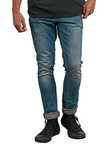 Aged Da Indigo Volcom Denim Uomo 2x4 Jeans SqxO4OXR
