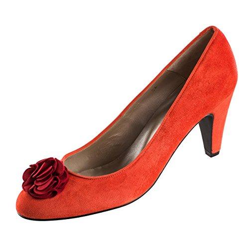 Zapatos Factory rojo 40 de rojo Rojo para mujer vestir de Piel Rojo Ex qBwUgg