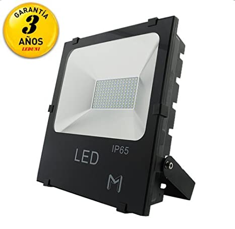 LEDUNI® Foco Proyector LED SMD- 50W equivalente a 450W, 4000 ...