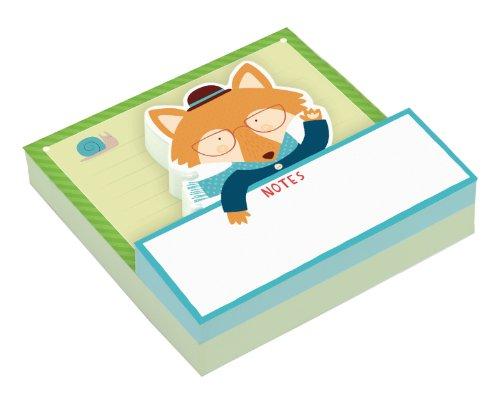 Fox Paper (Mr. Fox Shaped Memo Pad)