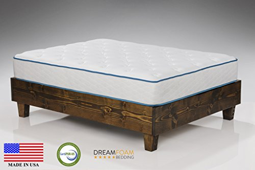 Dreamfoam Bedding Arctic Dreams 10-Inch Cooling Gel Mattress, Queen (Bedding Queen Mattress)