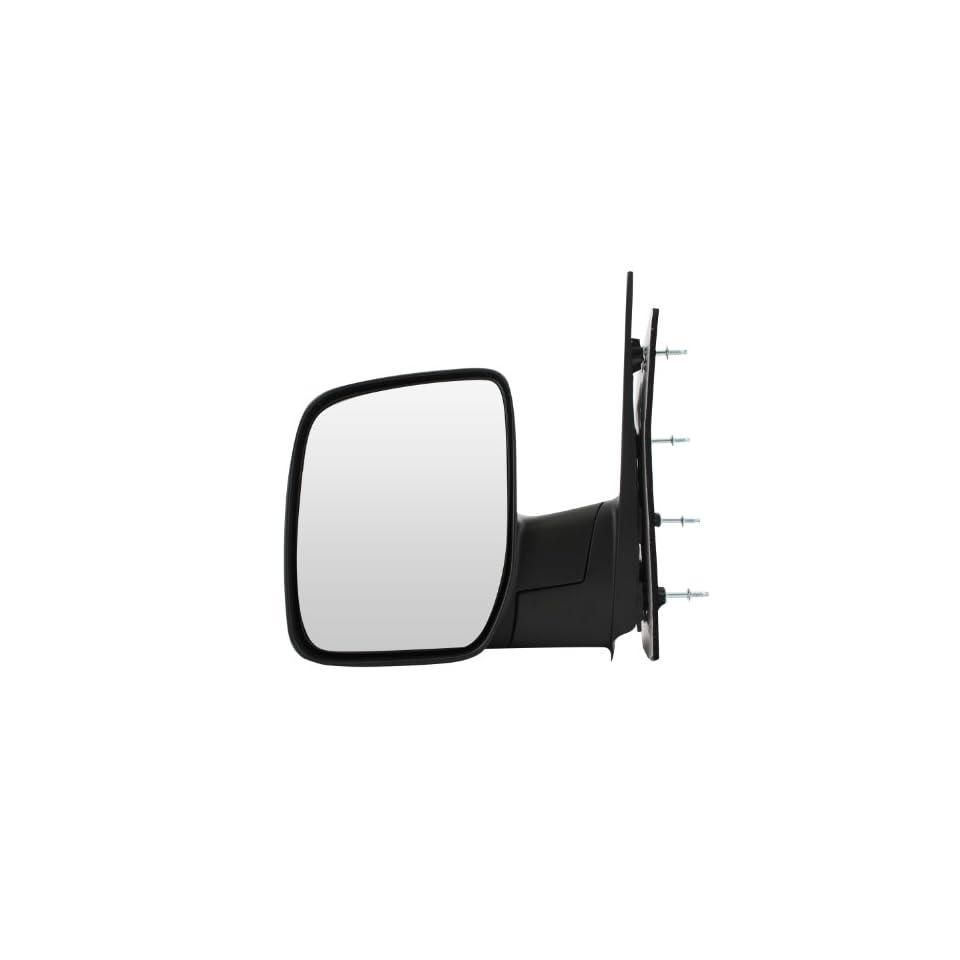 Pilot 08 09 Ford Econoline Van Sail Type w/ Single Glass Manual Mirror Left Black Textured FDE19410NL