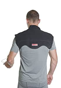 VentureHeat VH-KB-1250 Black Small At-Home Heat Therapy Neck and Shoulder Wrap