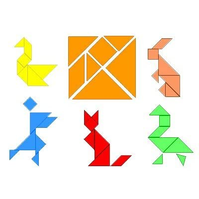 Logica Giochi Art Tangram 100 Figure In 1